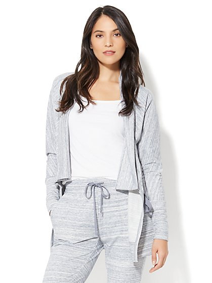 Drawstring Flyaway Jacket - New York & Company