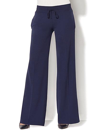 Drawstring Wide-Leg Pant - New York & Company