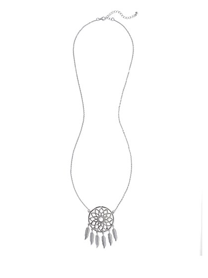 Dream Catcher Pendant Necklace  - New York & Company