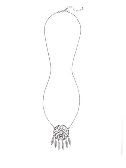 Dream Catcher Pendant Necklace  - New York & Company