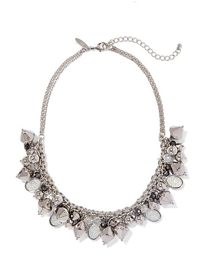 Druzy Collar Necklace  - New York & Company
