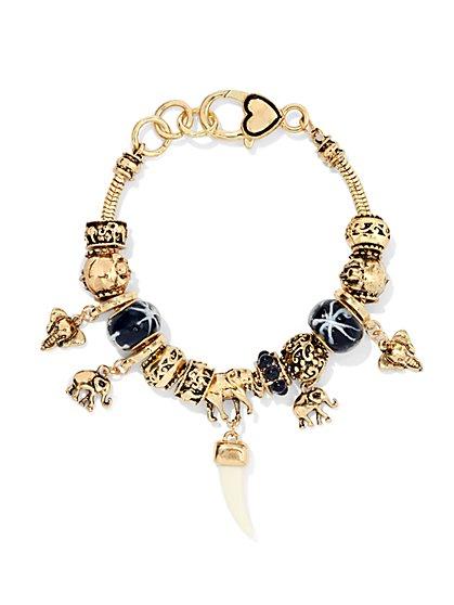 Elephant Charm Bracelet  - New York & Company