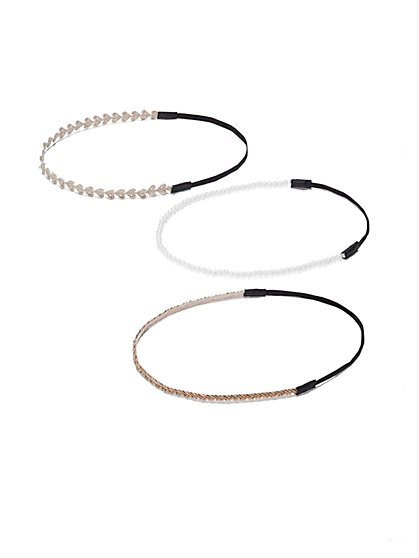 Embellished Headband Set  - New York & Company