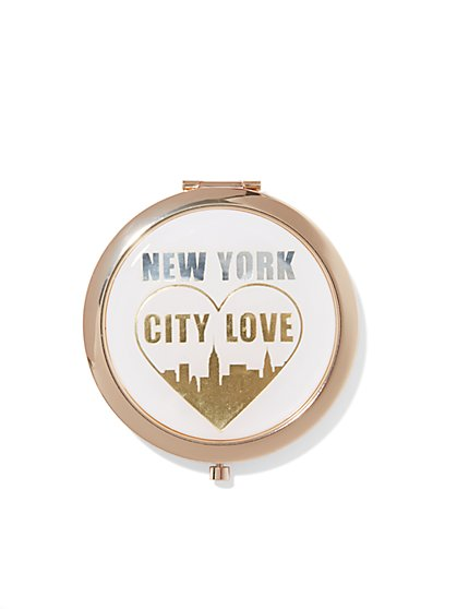Embellished Mirror Compact - New York & Company