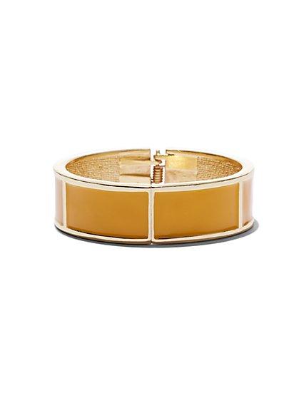 Enamel Geo Bracelet - New York & Company