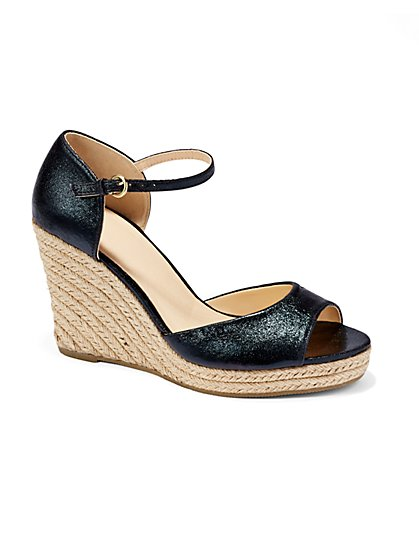 Espadrille Wedge Sandal - New York & Company