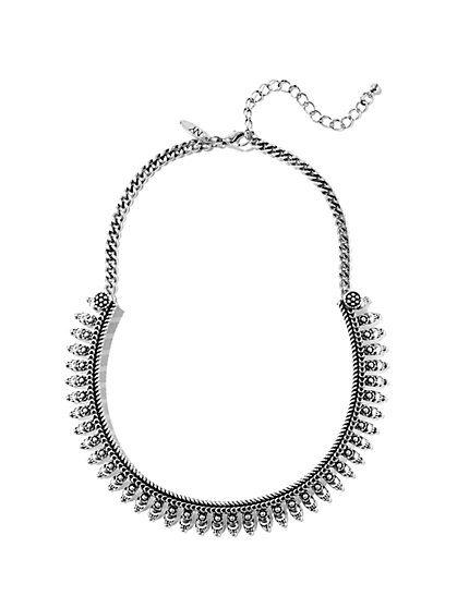 Etched Collar Necklace  - New York & Company
