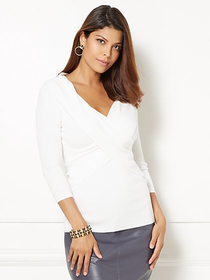 Eva Mendes Collection - Alana Wrap Sweater  - New York & Company