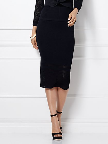 Eva Mendes Collection - Alba Sweater Skirt  - New York & Company