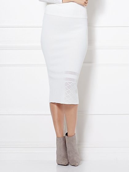 Eva Mendes Collection - Alba Sweater Skirt  - New York & Company