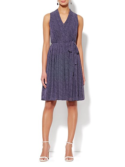Eva Mendes Collection - Alexis Sleeveless Dress – Confetti Hearts Print