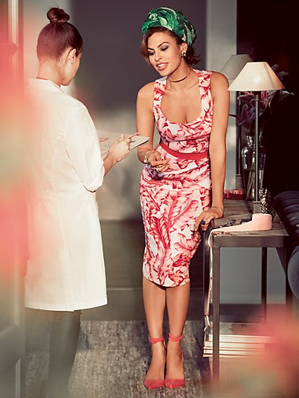 Eva Mendes Collection - Aline Dress - Tall - New York & Company