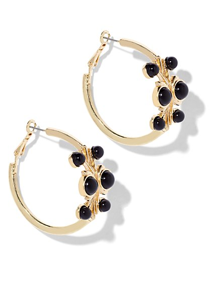 Eva Mendes Collection - Allegra Hoop Earring  - New York & Company