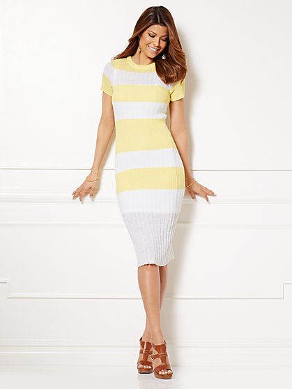Eva Mendes Collection - Alyssa Sweater Dress - New York & Company