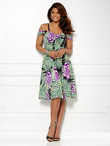 Eva Mendes Collection - Amelia Dress - Print  - New York & Company