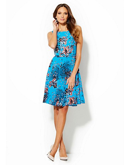Eva Mendes Collection - Andrea Flare Dress - New York & Company