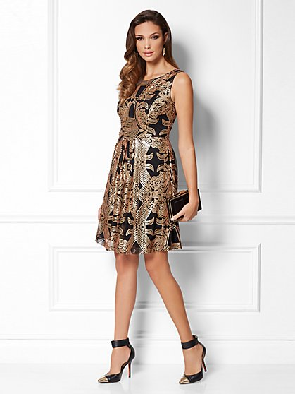 Eva Mendes Collection - Andrea Sequin Dress - New York & Company
