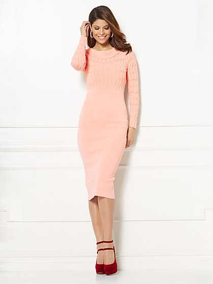 Eva Mendes Collection - Ania Sweater Dress - New York & Company