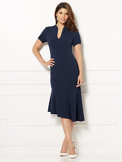 Eva Mendes Collection - Aniela Flare Dress - New York & Company