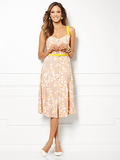 Eva Mendes Collection - Annabelle Dress - Print - New York & Company