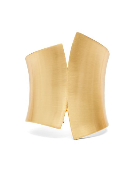 Eva Mendes Collection - Asymmetrical Cuff Bracelet  - New York & Company