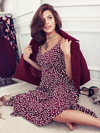 Eva Mendes Collection - Ava Dress - Twilight Dots - New York & Company