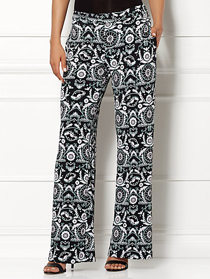 Eva Mendes Collection - Aya Palazzo Pant - New York & Company
