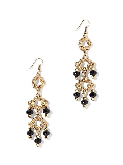 Eva Mendes Collection - Beaded Chandelier Earring - New York & Company