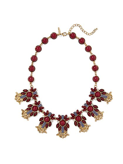 Eva Mendes Collection - Beaded Collar Necklace  - New York & Company