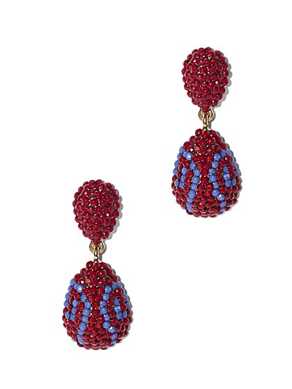 Eva Mendes Collection - Beaded Drop Earring - New York & Company