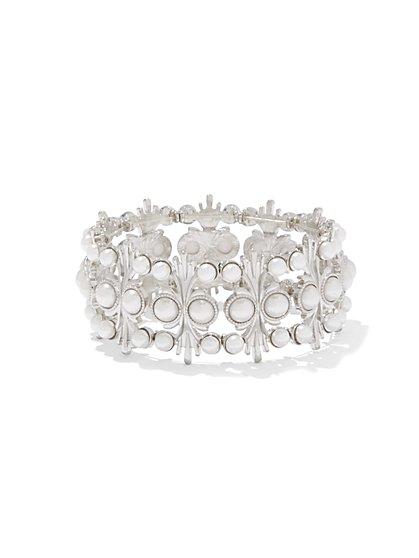 Eva Mendes Collection - Beaded Goldtone Bracelet  - New York & Company