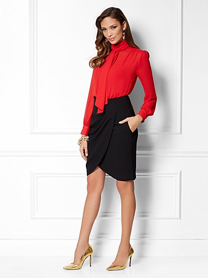 Eva Mendes Collection - Bow Blouse - New York & Company