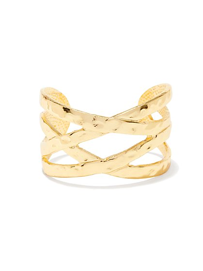 Eva Mendes Collection - Braided Cuff Bracelet