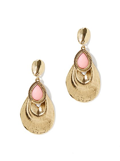 Eva Mendes Collection - Brianna Gold Disc Earrings