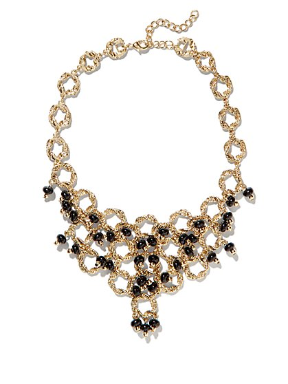 Eva Mendes Collection - Cabochon Bib Necklace - New York & Company