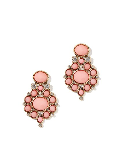 Eva Mendes Collection - Cabochon Cluster Earrings