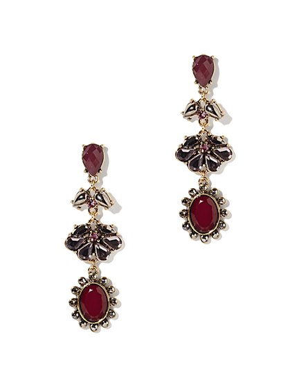 Eva Mendes Collection - Cabochon Drop Earring - New York & Company