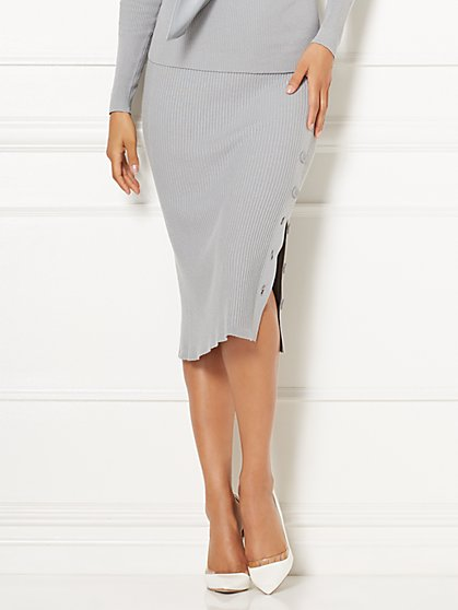 Eva Mendes Collection - Camilla Knit Skirt  - New York & Company