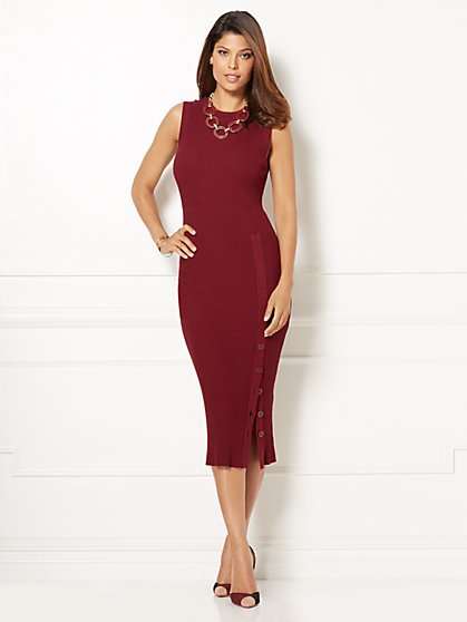 Eva Mendes Collection - Camilla Sweater Dress  - New York & Company