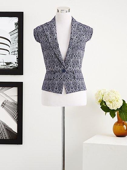Eva Mendes Collection - Cap-Sleeve Jacket - New York & Company