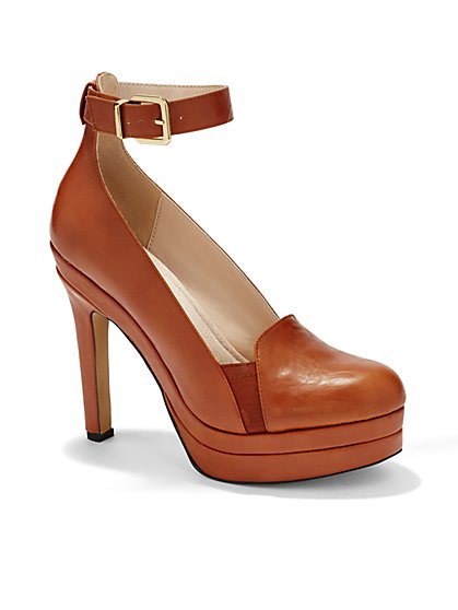 Eva Mendes Collection - Carlyle Ankle-Strap Pump  - New York & Company