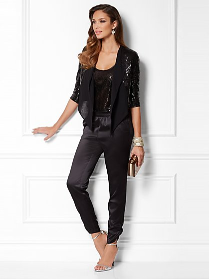 Eva Mendes Collection - Cascade Sequin Jacket - New York & Company