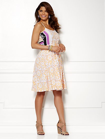 Eva Mendes Collection - Casey Dress - Print  - New York & Company