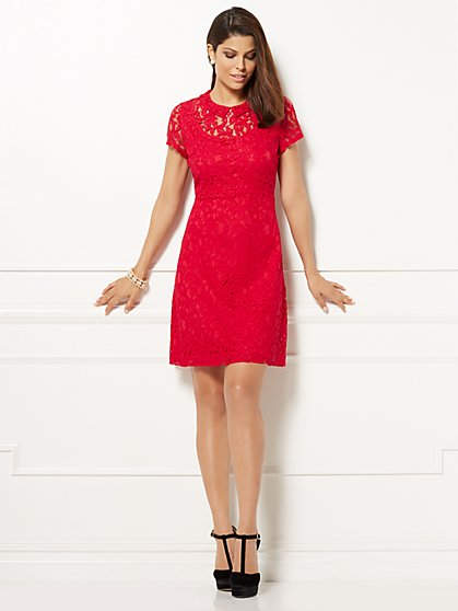 Eva Mendes Collection - Clara Lace Dress  - New York & Company