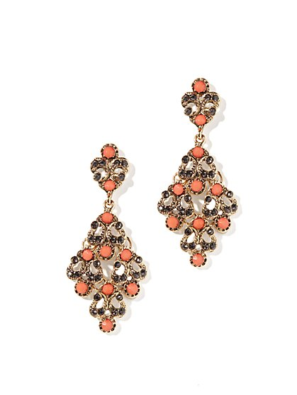 Eva Mendes Collection - Cluster Earrings