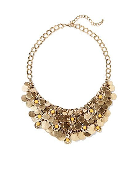 Eva Mendes Collection - Coin Necklace  - New York & Company