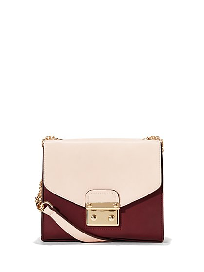 Eva Mendes Collection - Colorblock Crossbody Bag - New York & Company