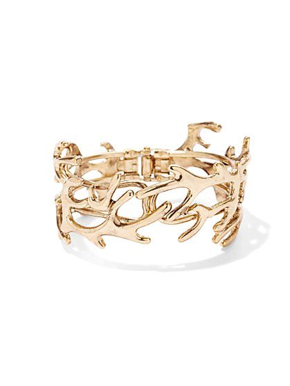 Eva Mendes Collection - Coral Hinge-Cuff Bracelet  - New York & Company