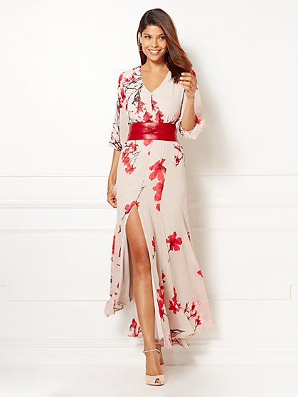 Eva Mendes Collection - Countess Maxi Dress - Petite  - New York & Company