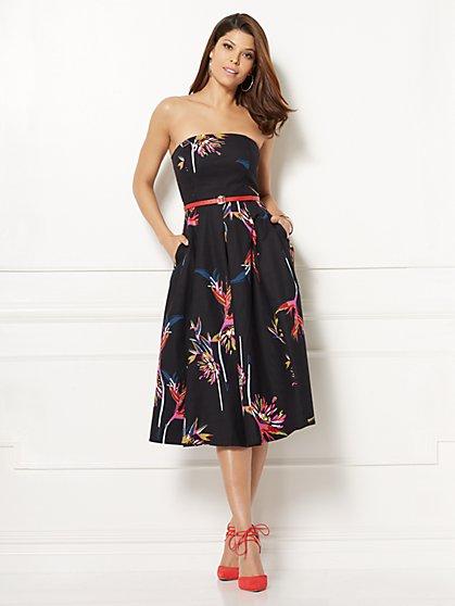Eva Mendes Collection - Del Mar Strapless Dress - Petite - New York & Company